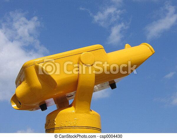 Yellow Binocular - csp0004430