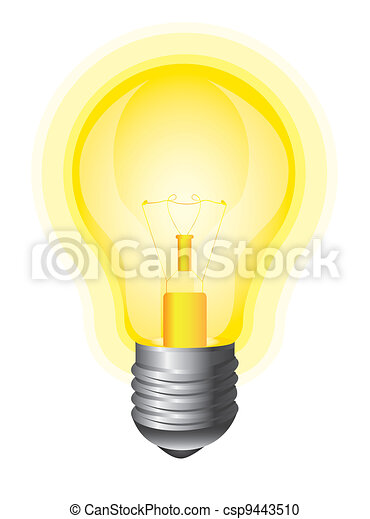 yellow bulb - csp9443510