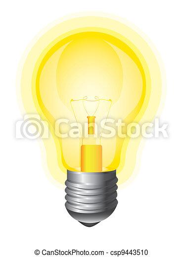 yellow bulb - csp9443510