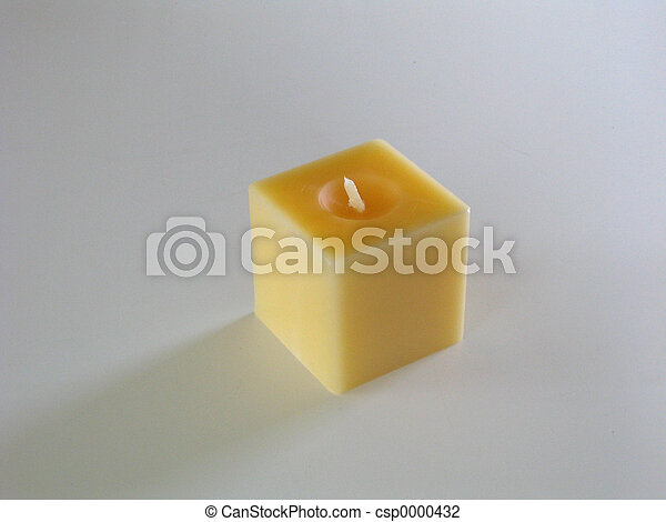 Yellow Candle - csp0000432