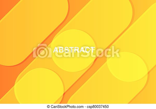yellow colors abstract background - csp80037450