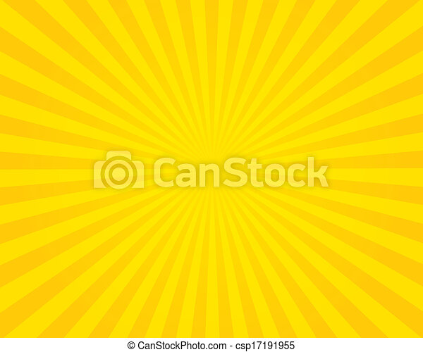 Yellow flare background. Illustration. - csp17191955