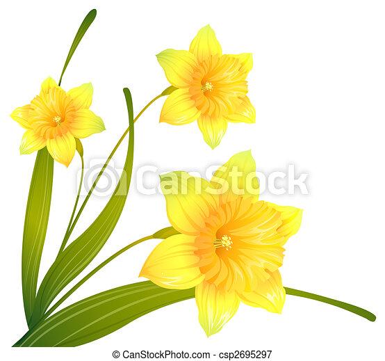 Yellow flower illustration drawing of some beautiful yellow yellow flower csp2695297 mightylinksfo