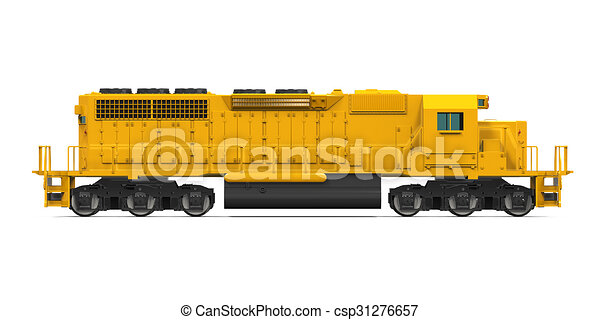 yellow freight train isolated on white background 3d locomotive clip art pictures locomotive clip art pictures