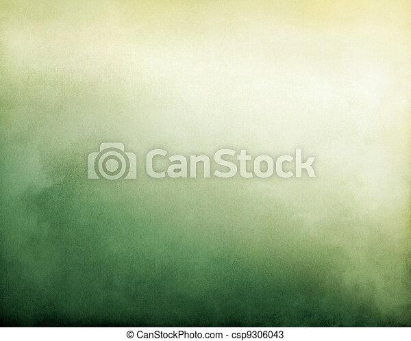 Yellow Green Fog - csp9306043