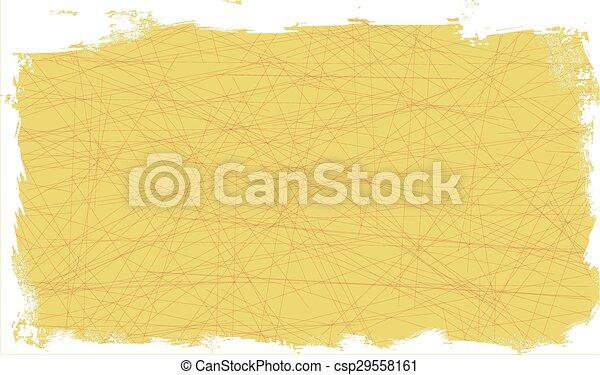Yellow Grunge Background - csp29558161