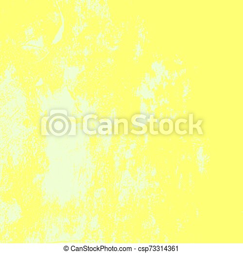 Yellow Grunge Background - csp73314361