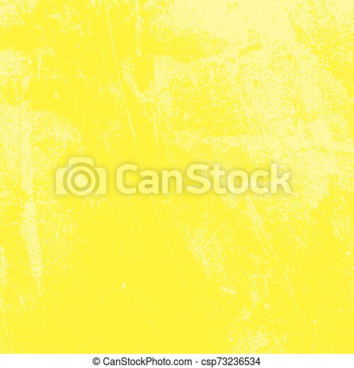 Yellow Grunge Background - csp73236534