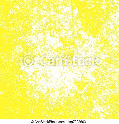 Yellow Grunge Background - csp73236631