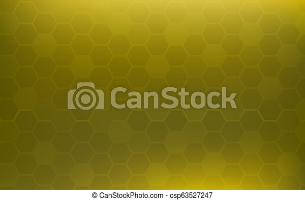 Yellow Honeycomb Abstract Background Wallpaper And Texture Concept Minimal Theme