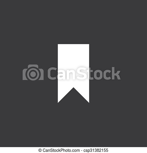 Yellow Icon Isolated on a Grey Background - Banner - csp31382155