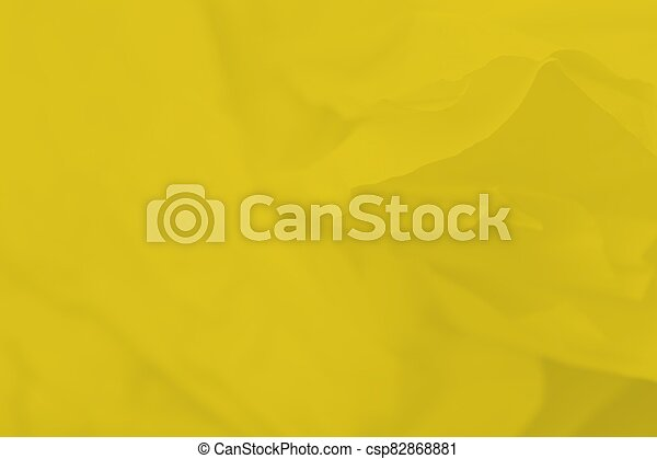 Yellow mustard color abstract background with blurred lines - csp82868881