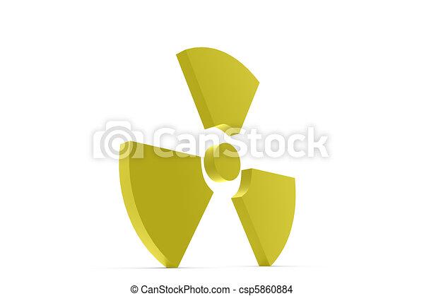 nuke symbol text