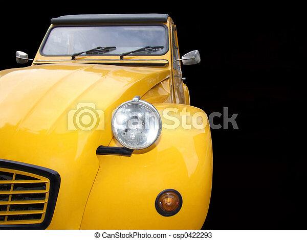 Yellow old timer - csp0422293