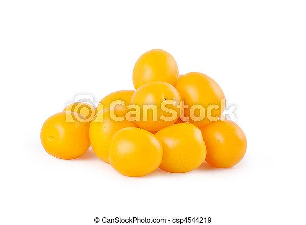 Yellow plums - csp4544219