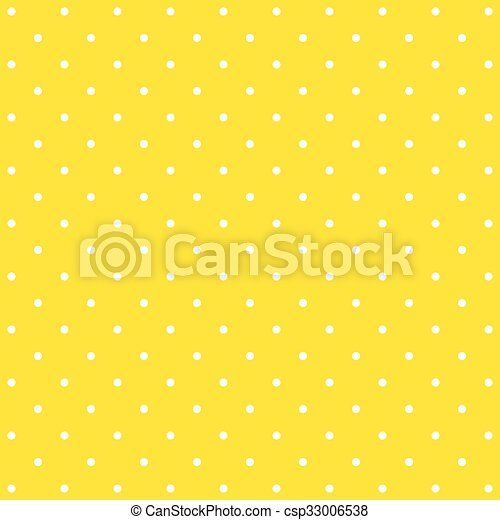 yellow polka dot background pattern csp33006538