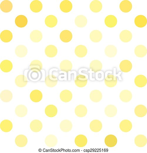 yellow polka dots background creative design templates csp29225169