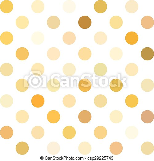 yellow polka dots background creative design templates csp29225743