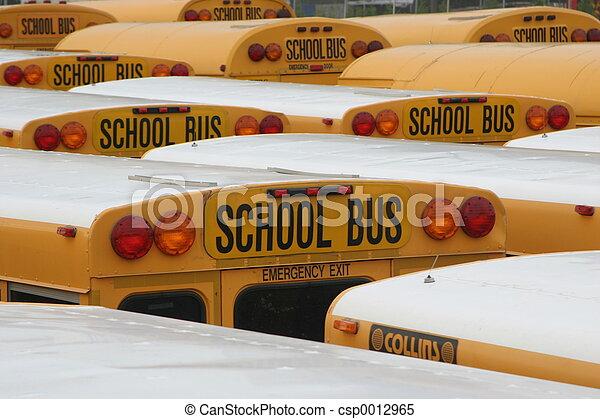 Yellow Schoolbus - csp0012965