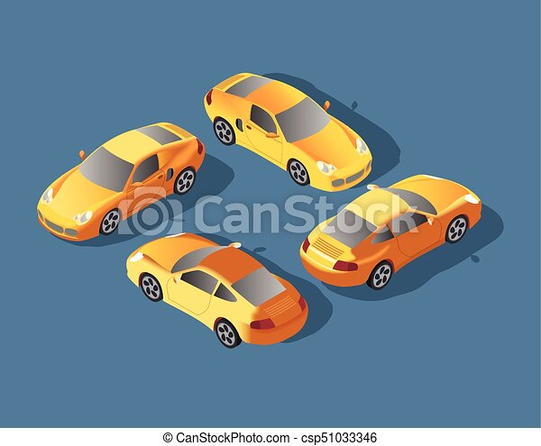 Yellow sedan car  taxi transport, service  infographics and game