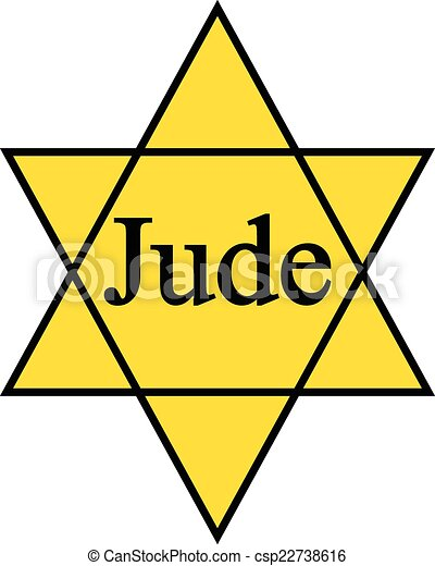 yellow star jude icon on white background yellow david star rh canstockphoto com Gold Star Clip Art Star of David Silhouette