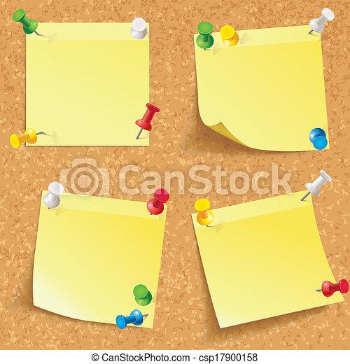 Yellow stick note - csp17900158
