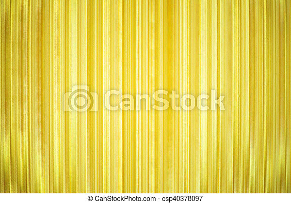 Yellow Striped Textured Wallpaper