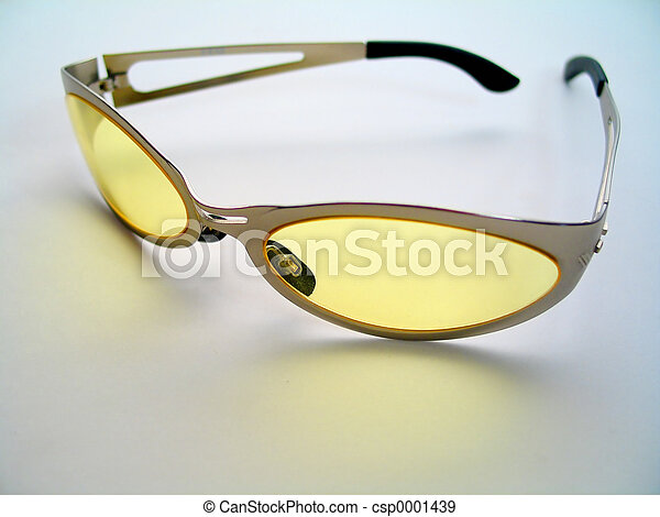 Yellow Sunglasses - csp0001439