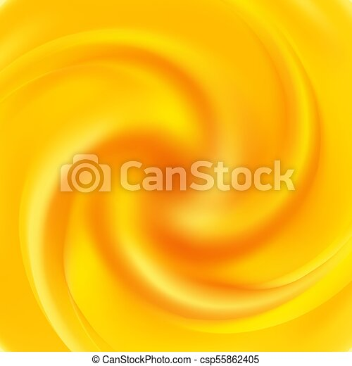 Yellow Swirl Background Abstract Orange Swirl