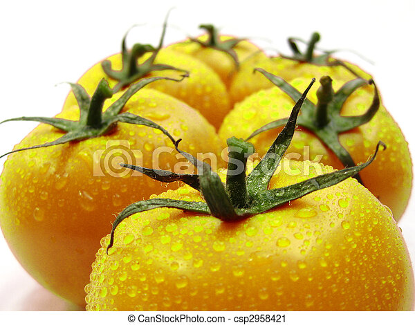 yellow tomatoes - csp2958421
