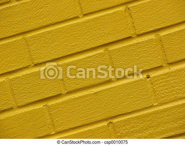 yellow wall - csp0010075