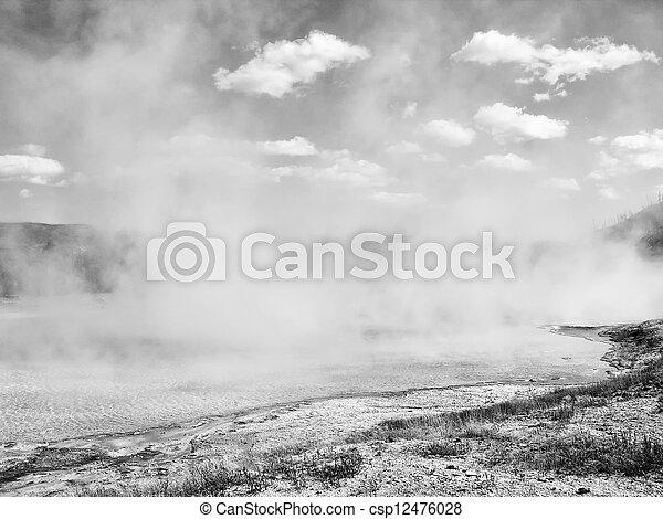 Yellowstone Geyser - csp12476028