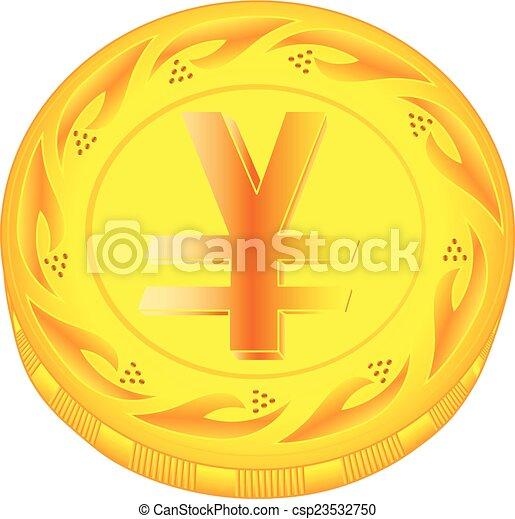 Yen coin - csp23532750