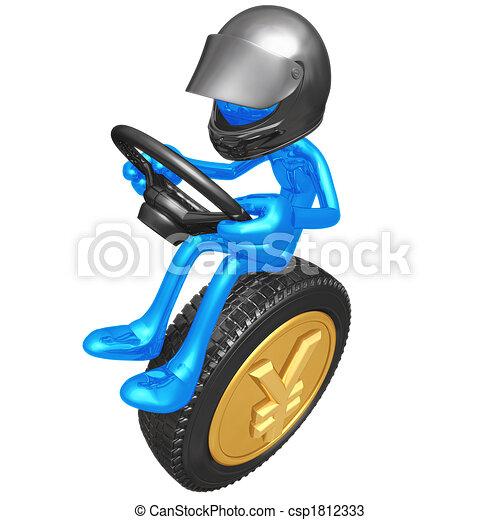 Yen Coin Currency Racer - csp1812333
