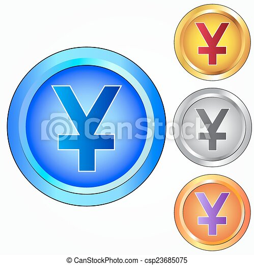 Yen Sign Icon Jpy Currency Symbol
