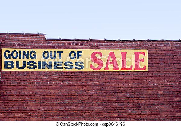 Salir del negocio - csp3046196