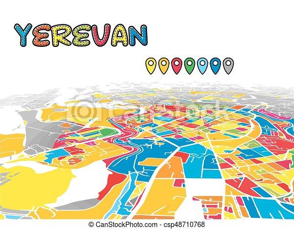 Yerevan, Armenia, Downtown 3D Vector Map on tashkent world map, monaco world map, tallinn world map, almaty world map, zagreb world map, liechtenstien world map, andorra world map, bishkek world map, karachi world map, astana world map, vatican city world map, kiev world map, sierra leone world map, vilnius world map, podgorica world map, dushanbe world map, kazan world map, riga world map, odessa world map, malta world map,