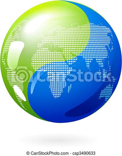 Yin Yang Earth - csp3490633