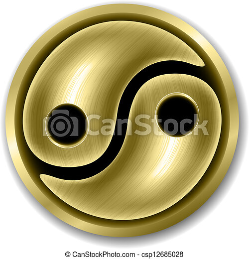 Yin Yang symbol - csp12685028