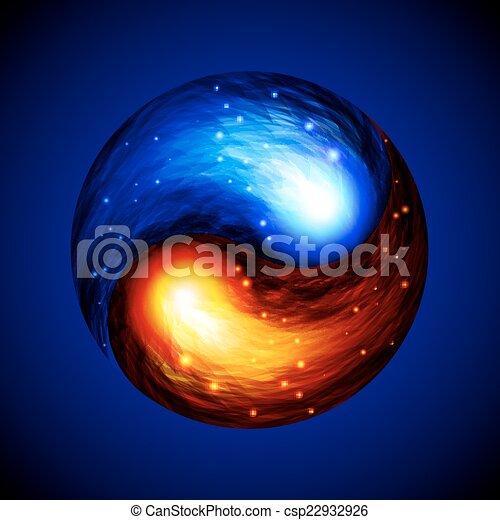 Yin Yang symbol - csp22932926