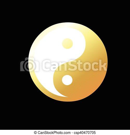 Zeichen emoji yang yin ☯️ Yin