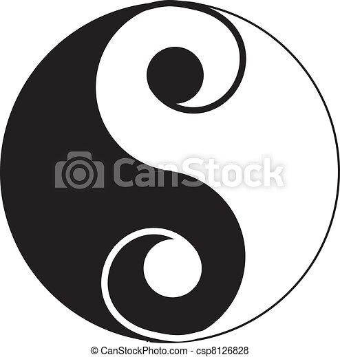 Yin-Yang tattoo - csp8126828