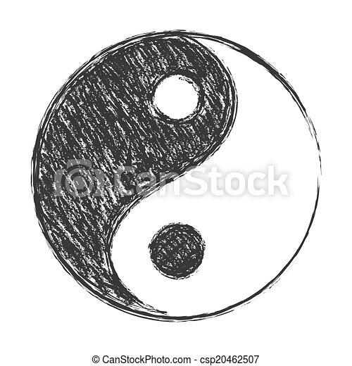 Yin Yang A Symbol Of Balance Black And White Chinese Believe