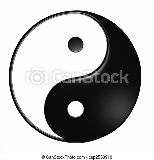 Ying Yang - Isolated - csp2550910
