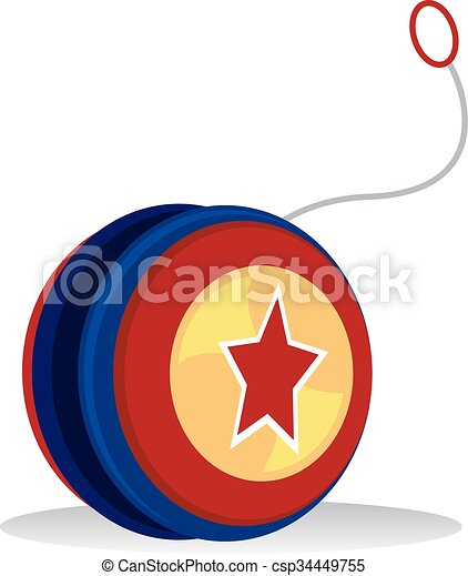 vector illustration of colorful yo yo clipart vector search rh canstockphoto com yo yo clip art Yogurt Clip Art