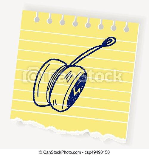 yo-yo doodle - csp49490150