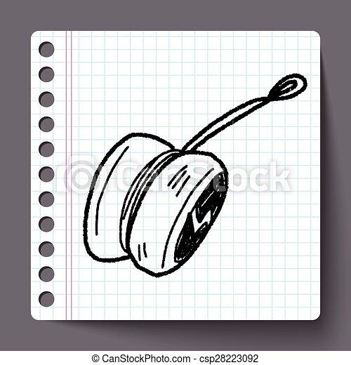 yo-yo doodle - csp28223092