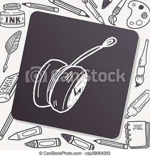 yo-yo doodle - csp39064293