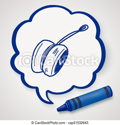 yo-yo doodle - csp31532643