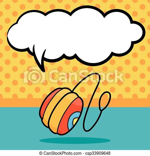 yo-yo doodle - csp33909648